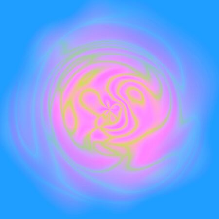 Blue and pink abstract soft rose flower image