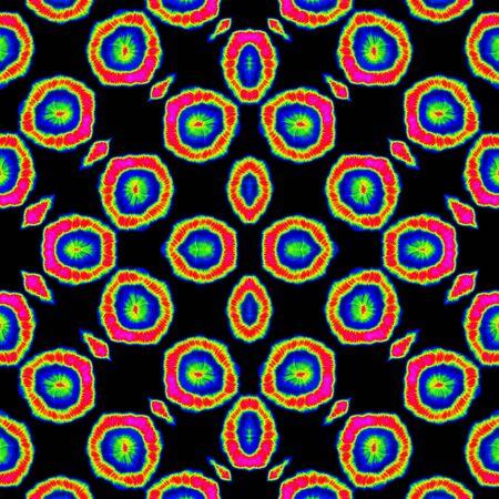 Seamless colorful funny irregular balls design pattern wallpaper
