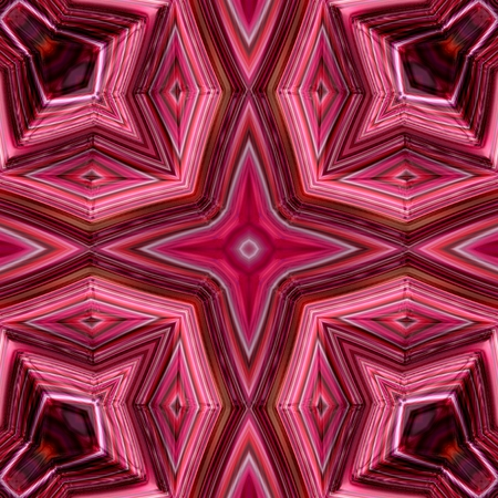 kaleidoscop: Beautiful visual effective pink red bright texture design image