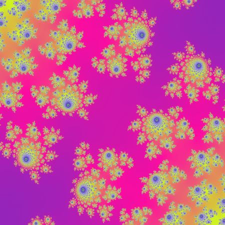 femine: Amazing pink and violet yellow flowers colorful design background Stock Photo