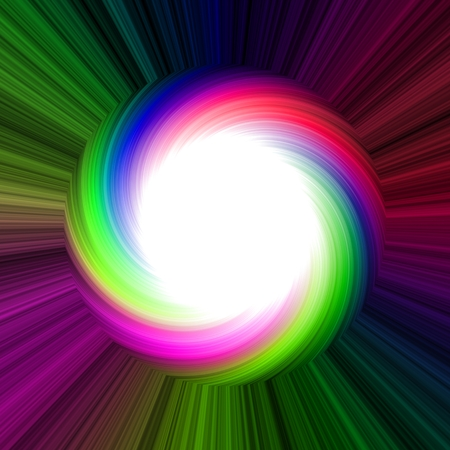 Colorful disk as joyful creative background for happy events