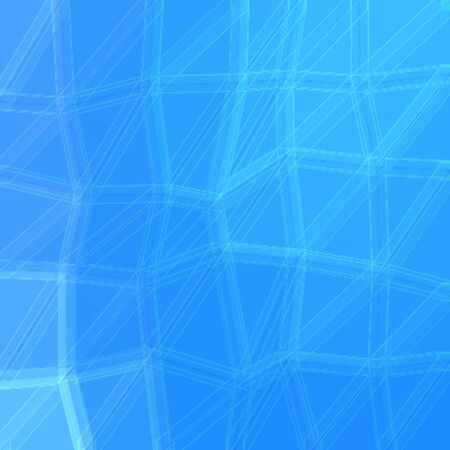 Surreal modern beautiful universal polygon turquoise background Stock Photo