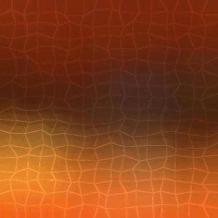 underlay: Orange and dark brown gradient modern 2d polygonal background Stock Photo