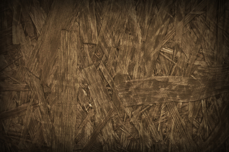 rigid: Natural brown particleboard chipboard wooden background backdrop