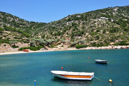 Gerakas beach or bay � the lonely part of Alonissos island.