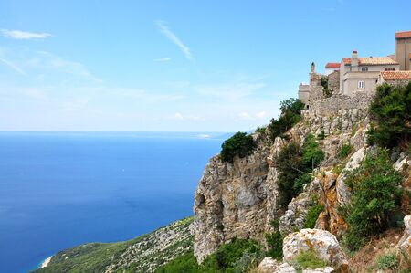 adriatico: Lubenice town in island Cres, Croatia