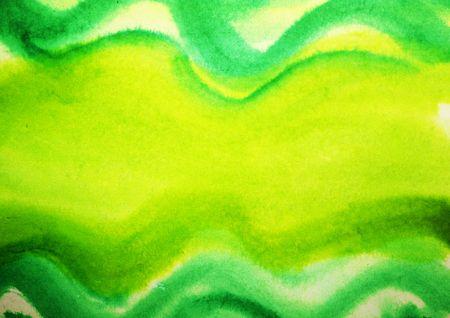 barbaric: Fresh spring watercolor acrylic yellow green background Stock Photo