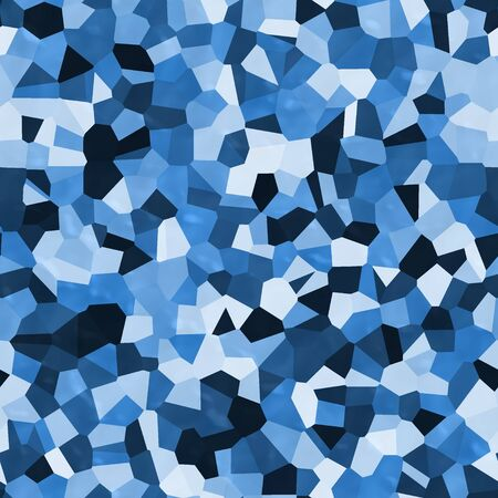 Blue shapes abstract 3d texture camouflage modern background Stock fotó
