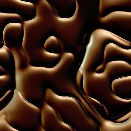 Chocolate brown bumpy rflective gloss surface texture background