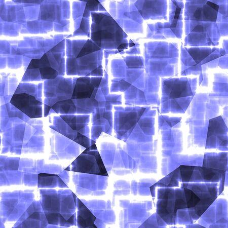 Light blue cyber creative cosmic mesch render background