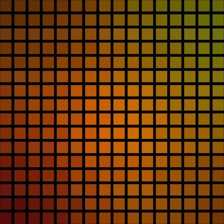 Abstract polygon matrix pixelated cubic tile background Stock Photo