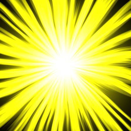 Black and yellow lighting bright circle square design image