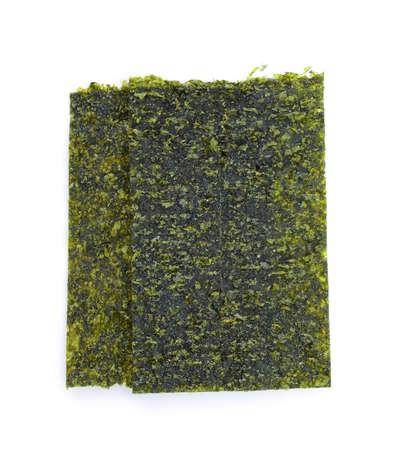 Japanese food nori dry seaweed or edible seaweed Stock fotó