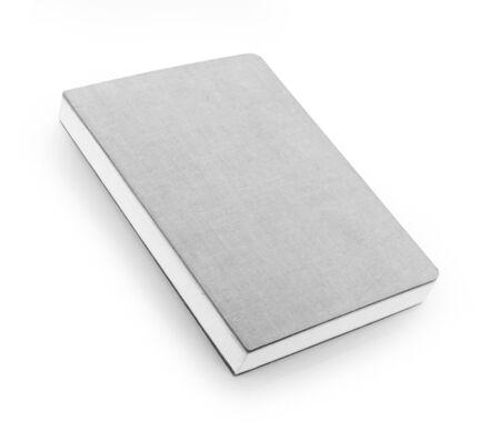 notebook isolated on white Standard-Bild