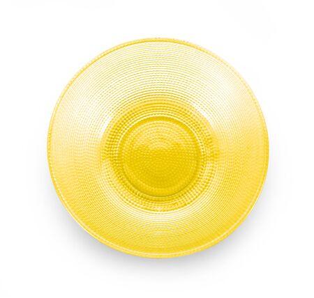glass bowl isolated on white background Stock Photo