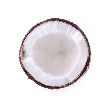 coconut isolated on white background Archivio Fotografico