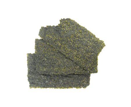 Japanese food nori dry seaweed or edible seaweed