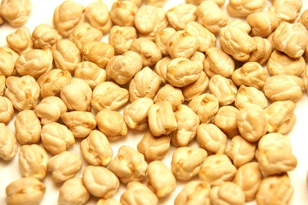 chickpeas: chickpeas Stock Photo