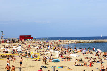 bogatell beach photo
