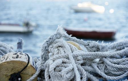 Cuerdas y redes de pesca