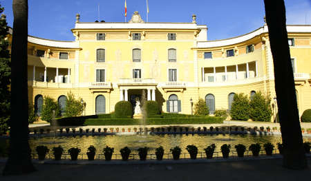Pedralbes s palace in Barcelona Stock Photo - 13861303