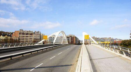Panoramic of bridge of Felipe II