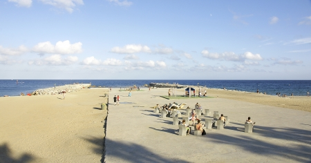 Beach of the Barceloneta, Barcelona