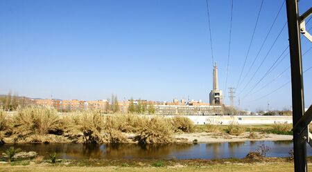 conection: River Bes�s with thermal power station of fund and conection wires