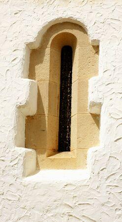 cel: Finestra del palazzo di Mar i Cel a Sitges, Barcellona
