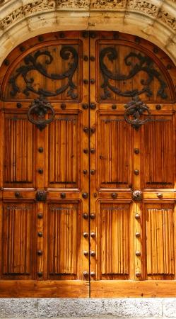 cel: Porta del palazzo di Mar i Cel a Sitges, Barcellona