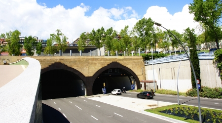 infrastructures: Tunnels of the Rovira in Barcelona