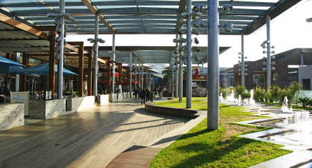 centers: Plant of restoration and playtime in a Shopping Center of Barcelona