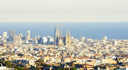 Panoramic of Barcelona
