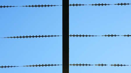 Barbed wire Stock Photo - 17304656