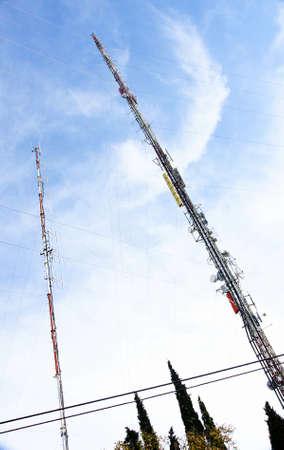 issuer: antennas Stock Photo