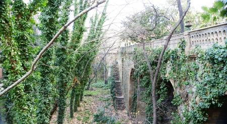 Garden in San Gervasio, Barcelona Stock Photo - 17766965