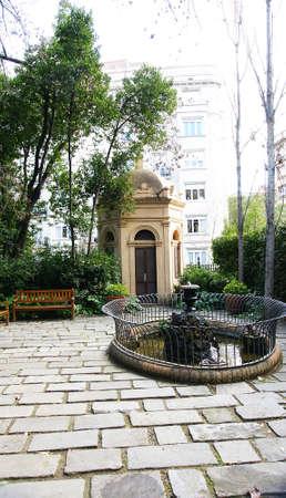 Gardens of The Tamarita in Barcelona Stock Photo - 17766952