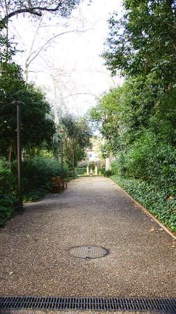 Gardens of The Tamarita in Barcelona Stock Photo - 17766955