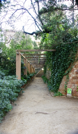 Gardens of The Tamarita in Barcelona photo