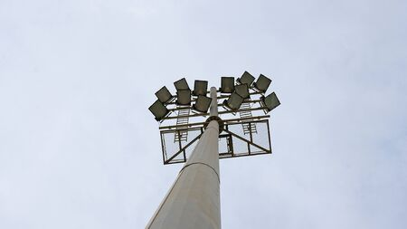 foci: Tower of public lighting in Barcelona