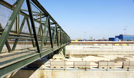 temporary: Temporary bridge in the Works AVE, Barcelona