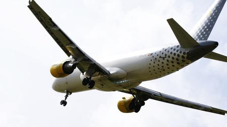 ventures: Commercial passenger plane flying