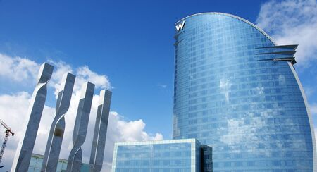 Panoramic of the Hotel Wela in the Barceloneta, Barcelona