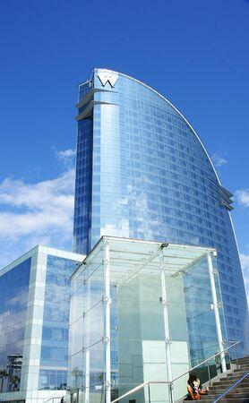 Panoramic of the Hotel Wela in the Barceloneta, Barcelona