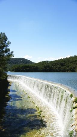 Spillway Foix in Castellet i la Gornal, Barcelona