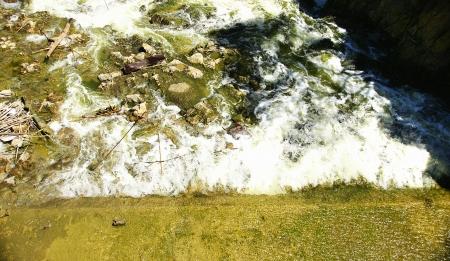 flow excess water spillway Foix reservoir, Castellet i la Gornal, Barcelona Фото со стока - 24211040