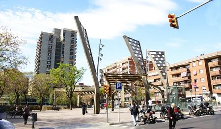 amat: Square Virrey Amat, Barcelona Editorial