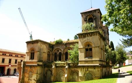 madhouse: Ancient church of Santa Creu madhouse, Barcelona