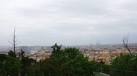 agglomeration: Panoramic of Barcelona