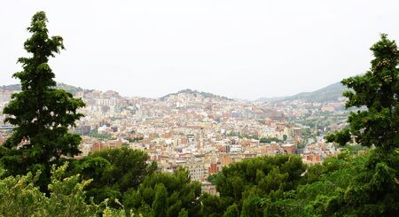 agglomeration: Panoramic of the mountain of Carmelo of Barcelona